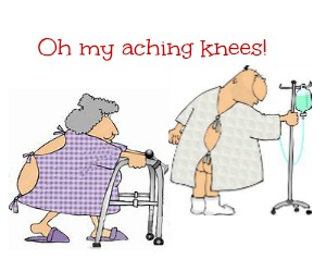 Knee Pain is Agony